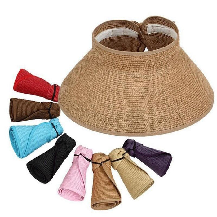 Sun Hats for Women Foldable Large Wide Brim Several Colors