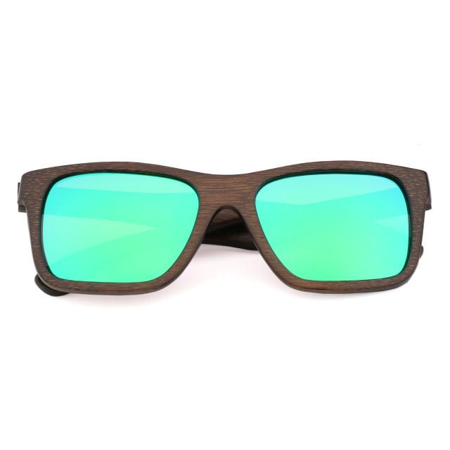 Sunglasses For Men Handmade Bamboo Polarized UV400 Lens