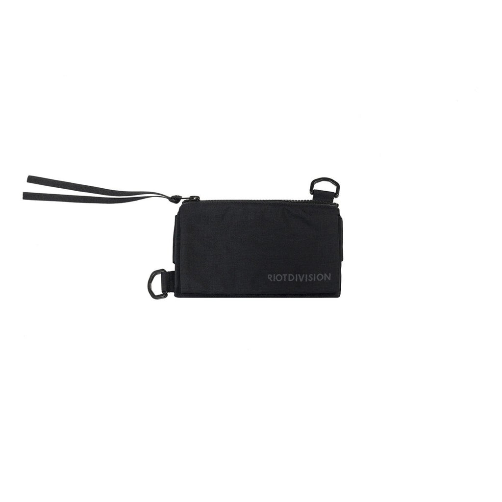 RIOTDIVISION Wallet With Strap RD-WV2WS BLACK