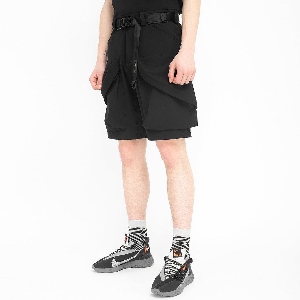 Nullus Shorts 020 RD-NS020 BLACK