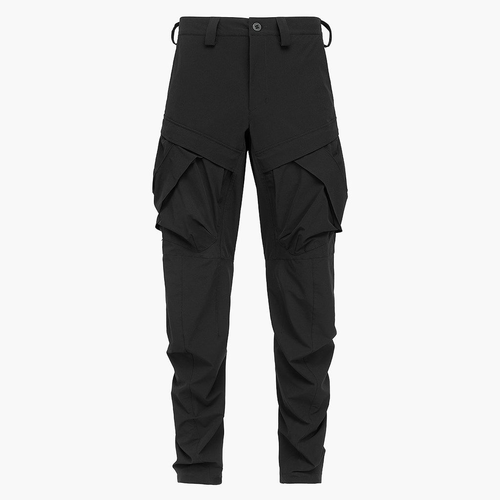 2 Pockets Pants 021 RD-2PP021 BLACK