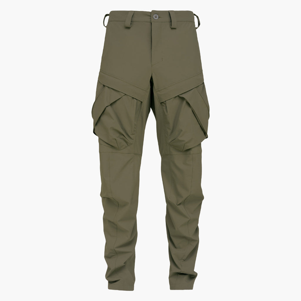 2 Pockets Pants 021 RD-2PP021 KHAKI