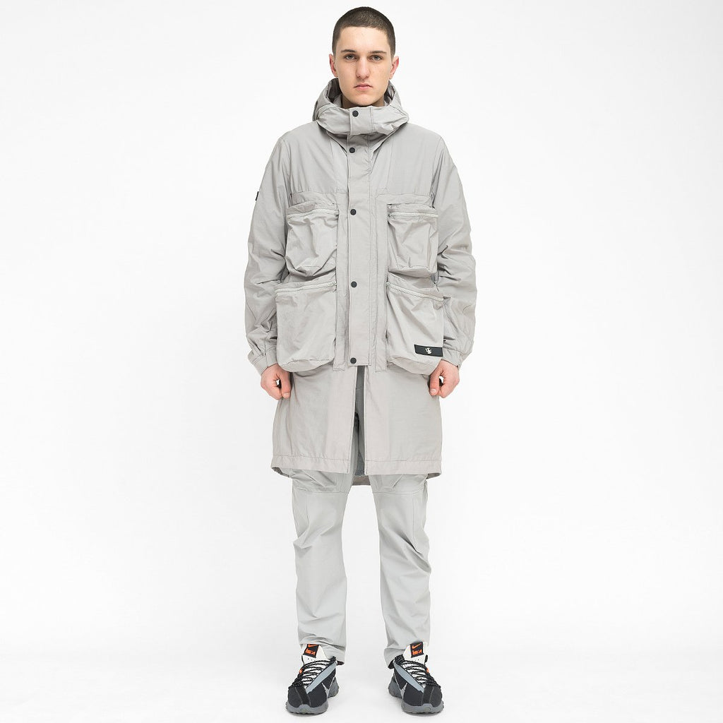 Wrapping Parka With Symbiosis System 020 RD-WPWSS020 GREY