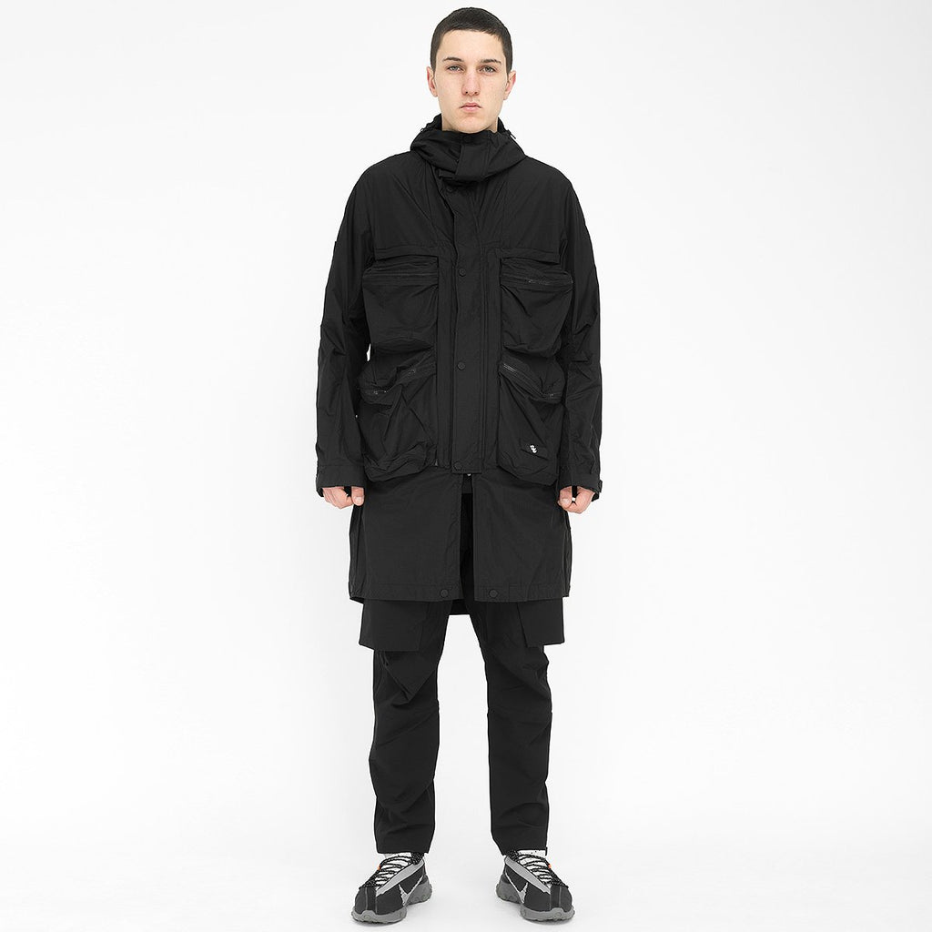 Wrapping Parka With Symbiosis System 020 RD-WPWSS020 BLACK