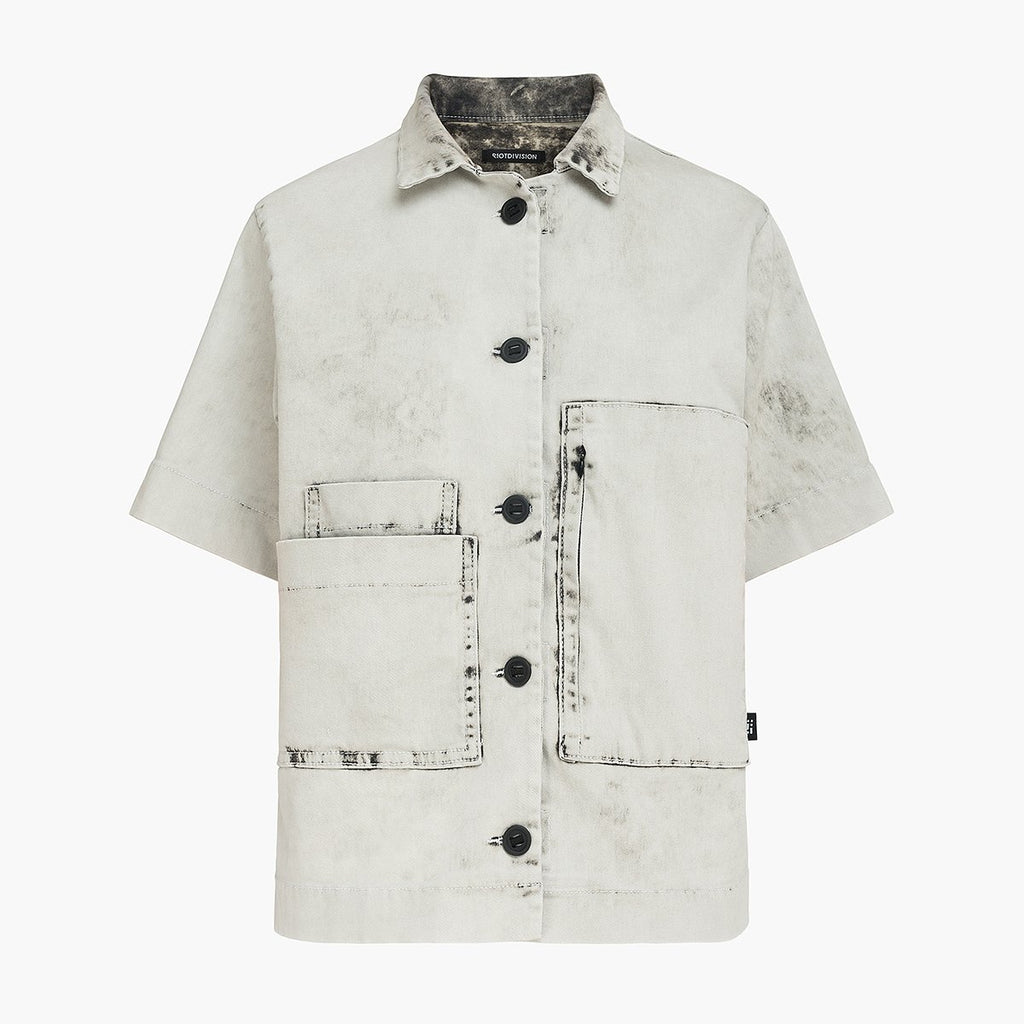 Bleached Geometry Shirt RD-BGS