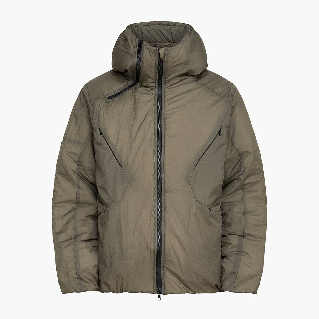 Bifurcation Down Jacket Short RD-BDJS BROWN