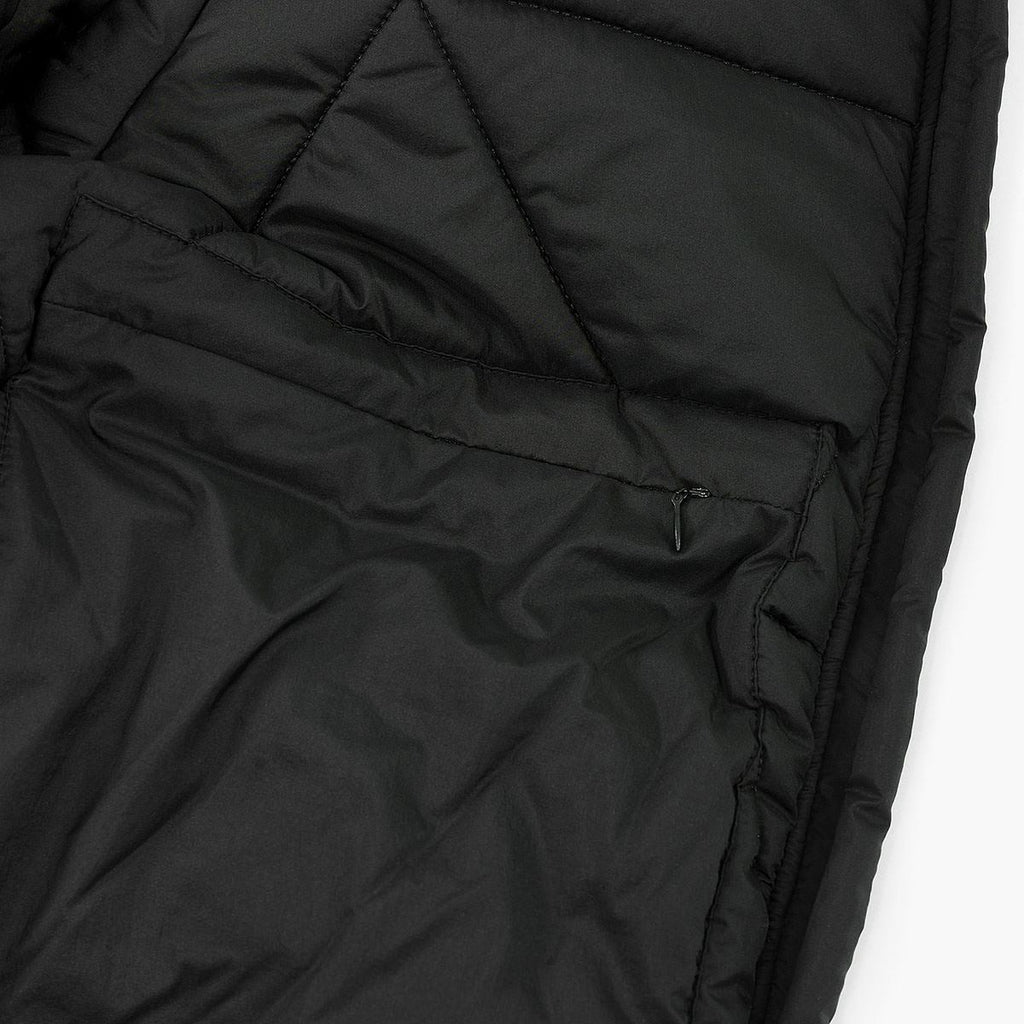 Bifurcation Down Jacket Short RD-BDJS BLACK