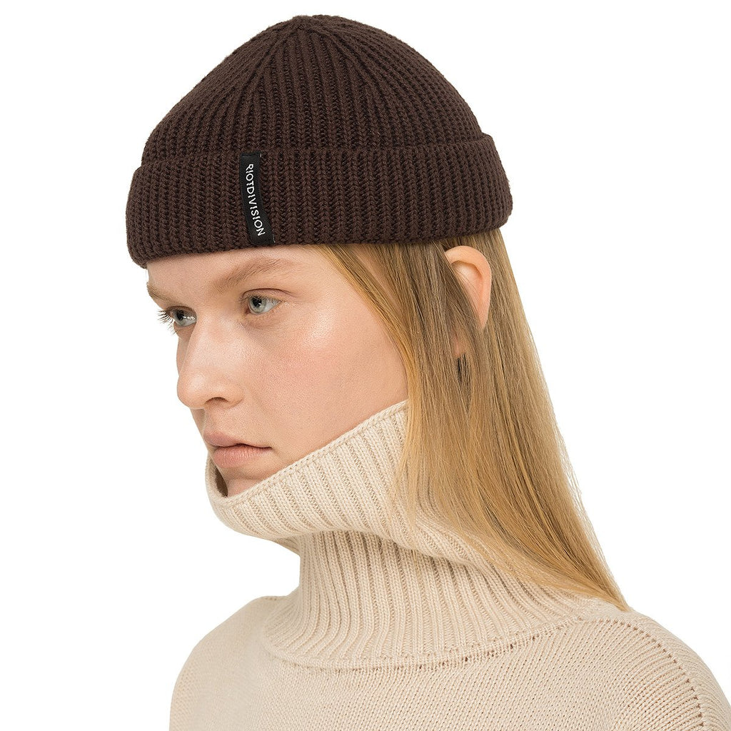 RIOTDIVISION Winter Hat Short RD-HWS20 BROWN