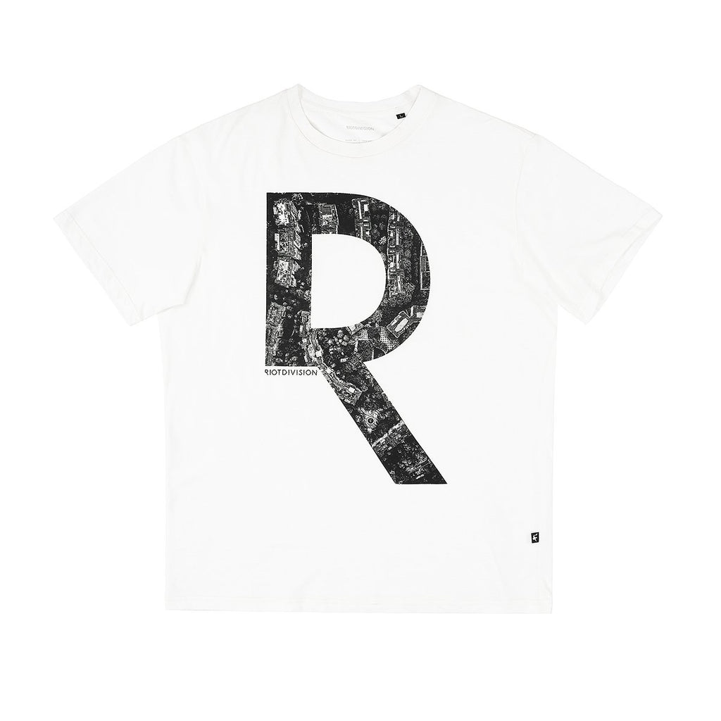 RIOTDIVISION T-shirt Unknown City WHITE