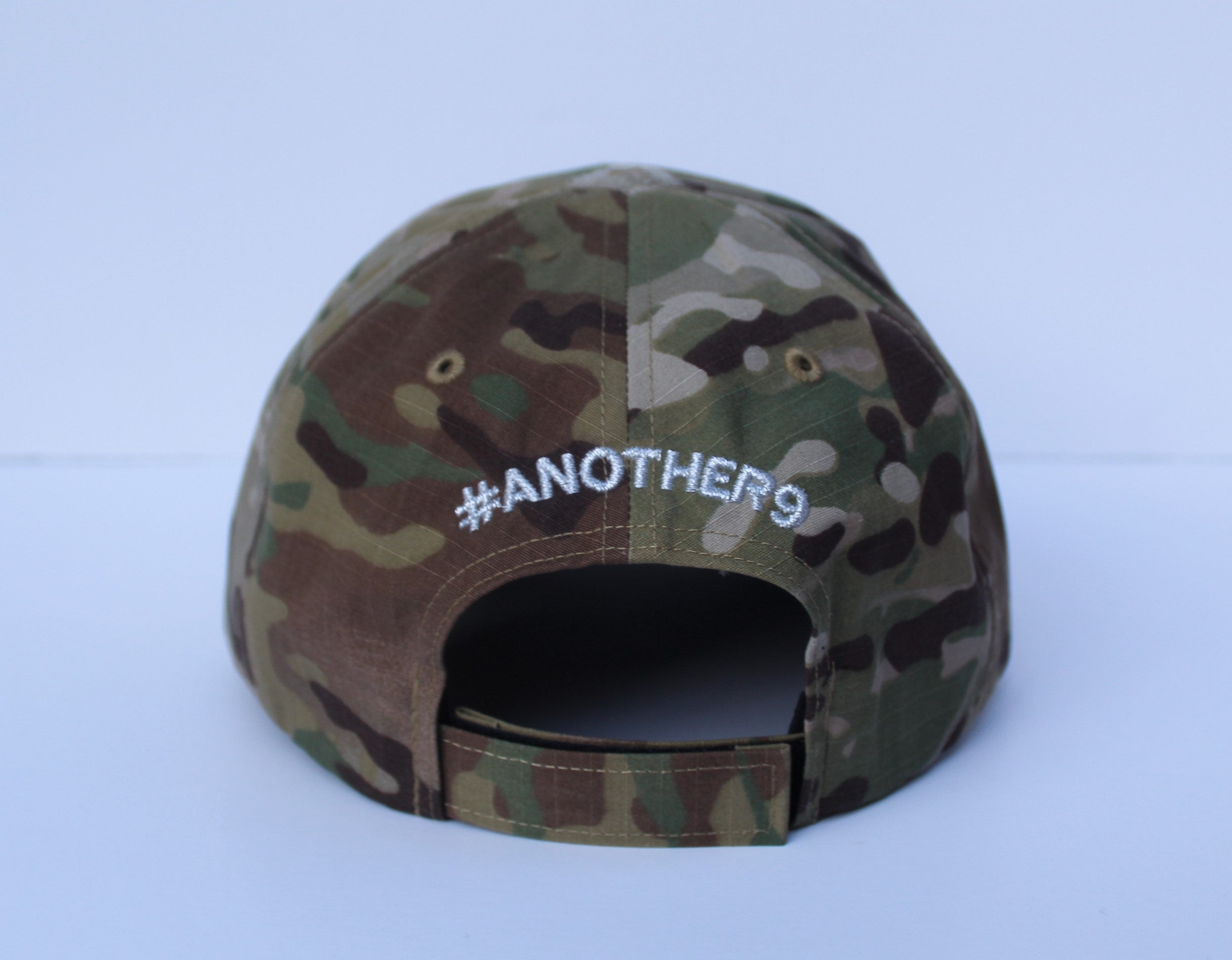#ANOTHER9 Camo Hat
