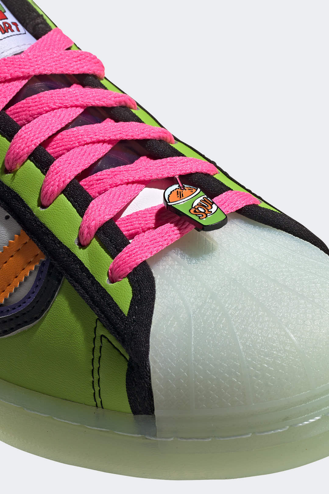 """Adidas superstar x the simpsons """"squishee"""""""