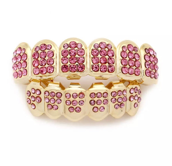 RICH PINK GRILLZ(Special Order)