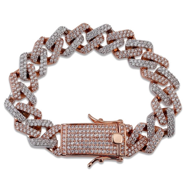 RICH PRONG BRACELET(Special Order) - Richie Rich Design