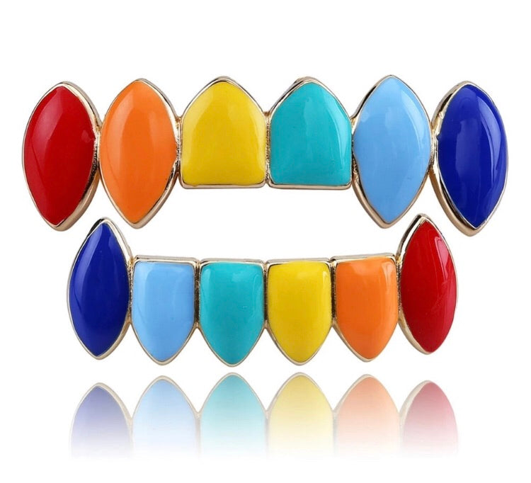 RICH COLORFUL GRILLZ(Special Order) - Richie Rich Design