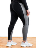 Black and Grey adidas Leggings