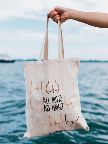All Butts Are Perfect Tote