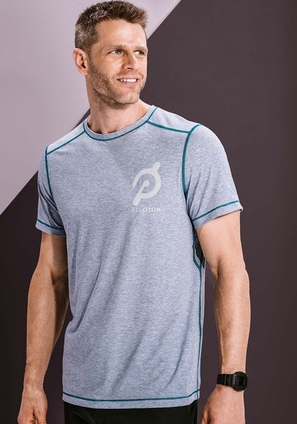 Peloton Heather Pop Tech Tee