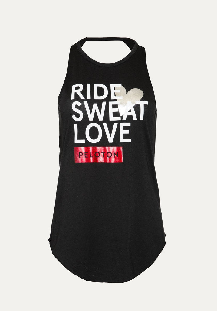 Ride Sweat Love Open Back Tank