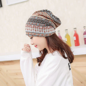 1 pc Fashion Female Warm Autumn Winter Hats Wo Headwear Knitting Hat Beautiful Caps Popular For Woman