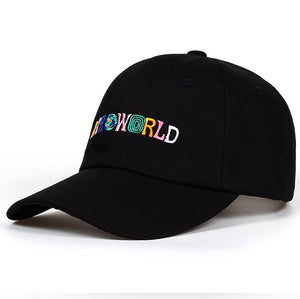 100% Cot ASTROWORLD Baseball Caps Travis Scott Unisex Astroworld Dad Hat Cap High Quality Embroidery Man Women Summer Hat