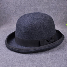 Load image into Gallery viewer, 100% Wo Men's Bailey Ofhollywood Fedora Hat For Gentleman Crushable Hantom Dad Bowler Hat Luxury Billycock Hats