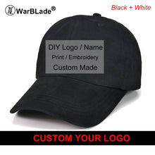 Load image into Gallery viewer, 10PCS Custom Logo Printed Designer Womens and Mens Cap Unisex Fashion Casual Hats Adjustable Baseball Caps Good Quality