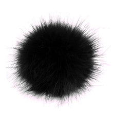 Load image into Gallery viewer, 12Pcs DIY Pom Pom Fur Balls Faux Fox Fur Fluffy Beanie Hat Accessories Multicolor Cap Pompom HairBall Women Men Keychain HandBag
