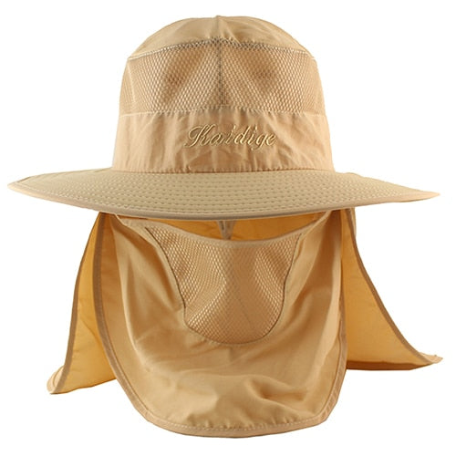 7b12119a ... Load image into Gallery viewer, 2 in 1 UPF 50+ Bucket Hat Summer Men ...