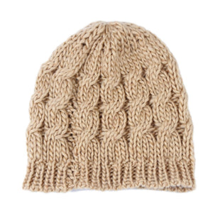 2016 New Arrival Trendy Winter Style Warm Braided Baggy Beret Beanie Cap Lady Manual Knitted Crochet Hat 8 colors 0057