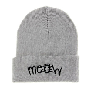 2016 Unisex Winter Hat Letter Pattern Knitted Beanie Cap Women Men Amazing