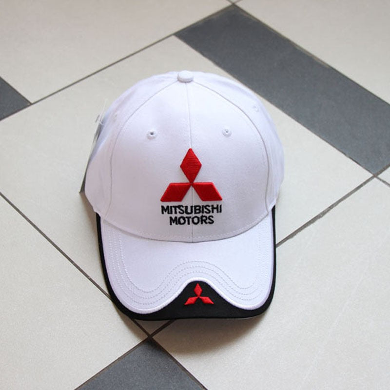 2017-2018 NEW 3D Mitsubishi hat cap car logo moto gp moto racing  baseball cap hat adjustable casual trucket hat
