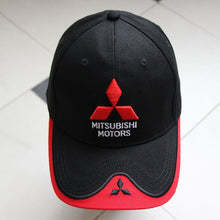 Load image into Gallery viewer, 2017-2018 NEW 3D Mitsubishi hat cap car logo moto gp moto racing  baseball cap hat adjustable casual trucket hat