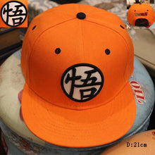 Load image into Gallery viewer, 2017 3 style High quality Dragon ball Z Goku hat Snapback Flat Hip Hop caps Casual baseball cap for Men women kids birthday GIFT
