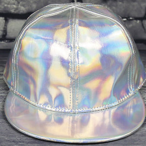 2017 Creative 3D rainbow discoloration hip hop baseball hat for men woman fashion leather change color Cap snapback hats for Men