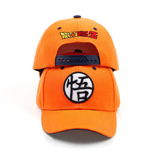 Load image into Gallery viewer, 2017 High Quality Cot Dragon Ball Z Goku Baseball Caps Hats For Men Women Anime Dragonball Adjustable HipHop Snapback cap Hat