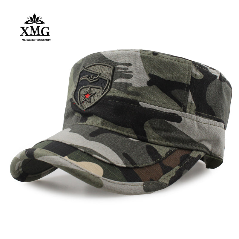 2017 High-quality Men Navy Seal Cap Snapback eagle Flat caps camouflage Hunting Fishing for Dad uncle Hat Bone Camo Outdoor Caps