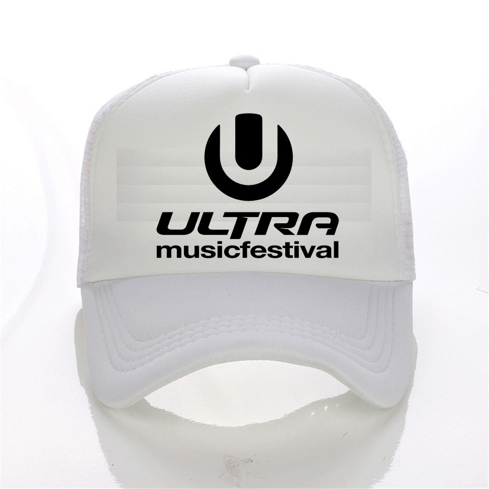 2017 New Fashion cap Ultra Music Festival Band baseball cap World Cheap High Quality snapback hat women Casual men hat