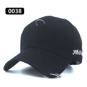 2017 New Good Quality Brand Unisex Baseball Cap Cotton GD/CL Ring With The Three-ring Adjustable Hats For Men/Women/Couple
