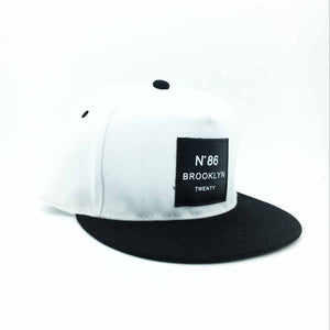 2017 New Men Women BROOKLYN Letters Solid Color Patch Baseball Cap Snapback Hip Hop Flat Hat Couple Sun Hat Free Shopping
