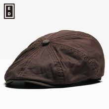 Load image into Gallery viewer, 2017 Real 8 New Pattern England Restore Ancient Ways Octagonal Hat Male For Peaked Cap Woman Beret Fashion Leisure Time Hats