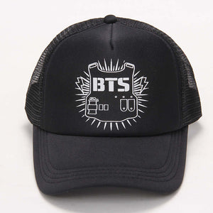 2017 Special Offer Rushed Bangtan Cadete Cap Hats Bts Logo Baseball Hat Version A Bulletproof Style High Quality Snapback k-pop