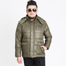 Load image into Gallery viewer, 2017 new arrival Men's outerwear super large down jacket casual colour black green khaki plus size XL-10XL11XL12XL13XL 167