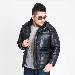 2017 new arrival Men's outerwear super large down jacket casual colour black green khaki plus size XL-10XL11XL12XL13XL 167