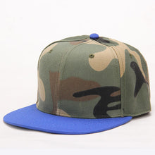 Load image into Gallery viewer, 2017 new fashion Hats camouflage Baseball Hat women men's snapback Cap hip hop Hat Cap sway Summer fall Hat for men army caps
