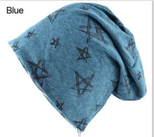Load image into Gallery viewer, 2018 Autumn And Winter Beanie Mens Skullies Bonnet Hat Hip Hop Cap Cotton Pentagram Hats For Men And Women Beanies