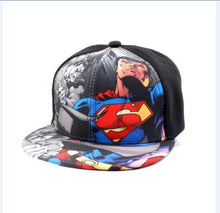 Load image into Gallery viewer, 2018 Batman VS Superman fashion spiderman children's casual mesh cap hip-hop baseball hat adjustable for kids boy girl