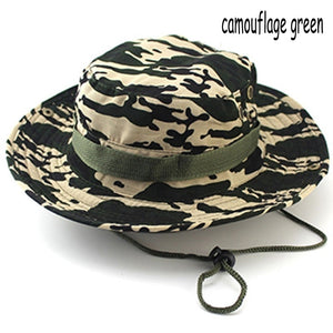 2018 Best Goods Men Sun Hat Fashion Rounded Jungle Fisherman Hat Casual  Camouflage Printed Cap Accessories 275f7abfa3b