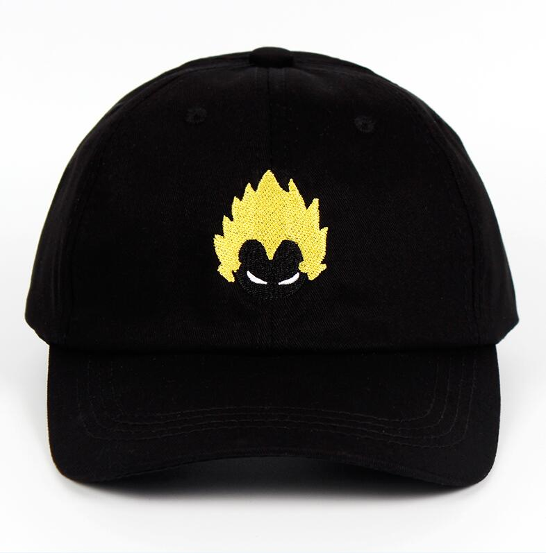 2018 Brand Dragon Ball New Cotton Dad Hat Explosion head Youth Letter Print Unisex Women Men Hats Baseball Cap Snapback