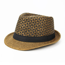 Load image into Gallery viewer, 2018 Brands England Retro Men Couple Women Fedoras Top Jazz Hat Spring Summer Autumn Bowler Hats Cap Classic Version Wholesale