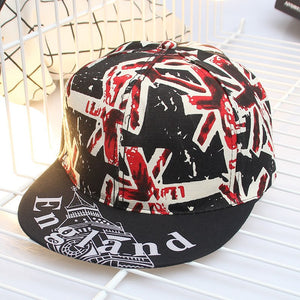 2020 England Flag men Women Baseball Cap Ponytail Hair Summer Hat Snapback Hip Pop Letter Printing Caps Adjusted For Girls boys